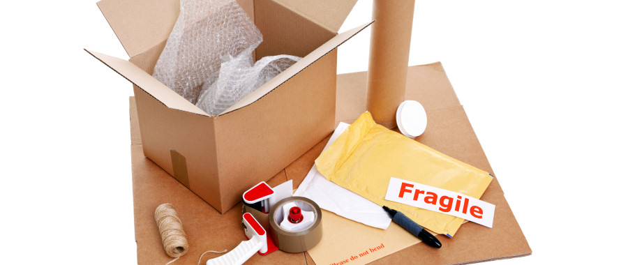Repackaging materials for commercial mail distribution