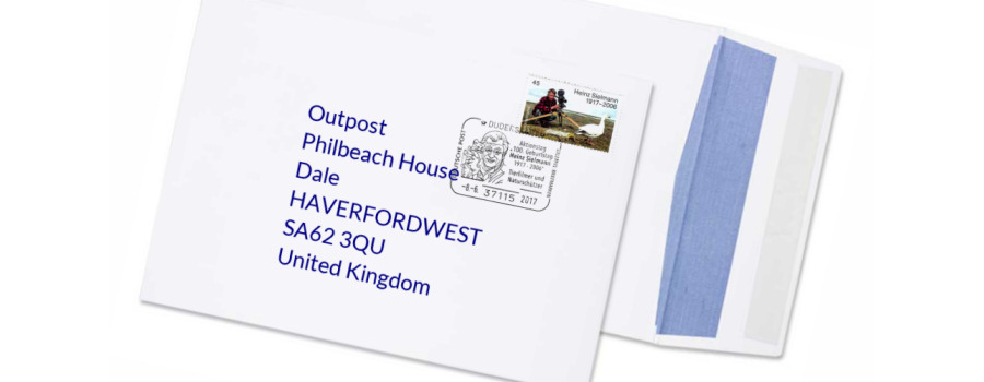 Outpost mail service for expost customers in Bath or Plymouth